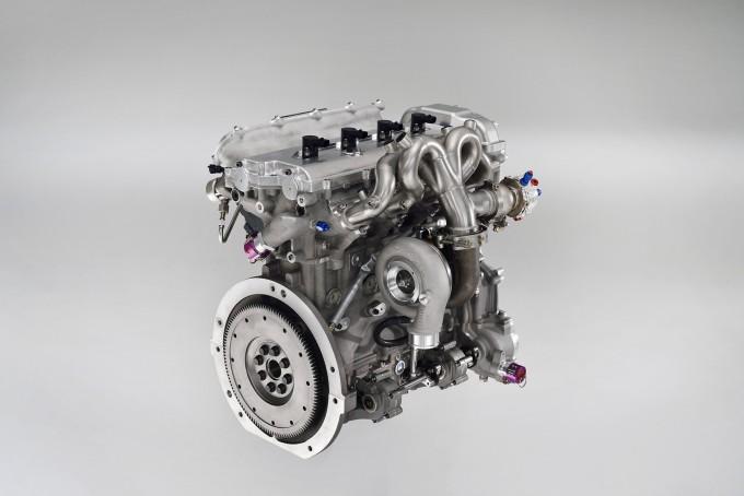 トヨタ・ヤリスWRCに搭載されるエンジン