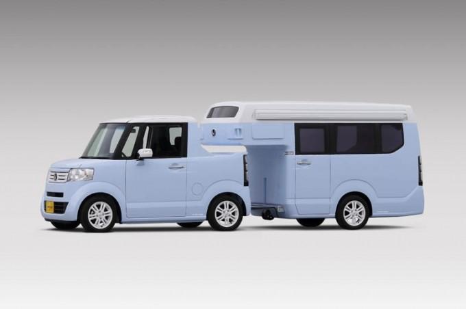ホンダの軽キャンピングカー「N-TRUCK」「N-CAMP」