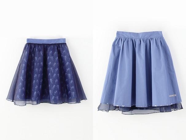 13号機モチーフのスカート